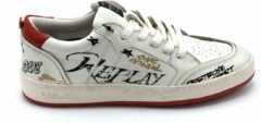 Witte Replay Inside- Sneakers Heren- Maat 41