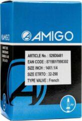 Zwarte Amigo Binnenband 14 X 1 1/4 (32-298) Fv 42 Mm