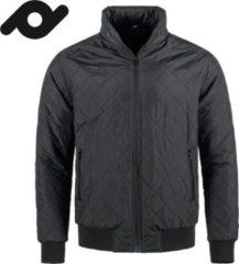 Senvi casual gevoerde jas voor mannen Kleur Zwart Maat M