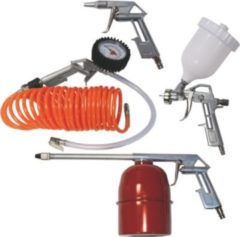 Scheppach ZB-Set 5 Kompressorzubehör-Set, 5-teilig