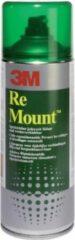 Transparante 3M Lijmspray - 400 ml spuitbus - Remount 9473 - Na verwijdering geen beschadigingen