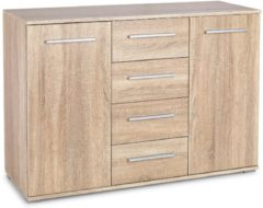 Home Style Dressoir Lima 116 cm breed in sonoma eiken