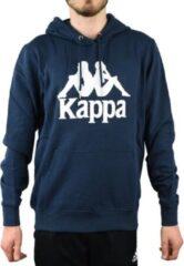 Kappa Taino Hooded 705322-821, Mannen, Marineblauw, Sporttrui casual maat: M