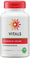 Vitals Vitamine B1 250 mg Voedingssupplement - 100 vegicaps