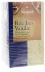 Sonnentor Rooibos & vanille thee bio 20 Stuks