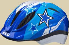 KED Meggy Kinder Fahrradhelm Kopfumfang S/M 49-55 cm blue stars