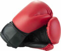 Rode Angel Sports Bokshandschoenen Zwart Maat 14oz