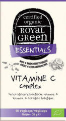 Royal Green Royal groen Vitamine C complex 60 vegicaps
