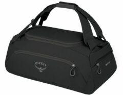 Zwarte Osprey Daylite Duffel 30 black Handbagage koffer