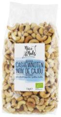 Nice&Nuts Nice & Nuts Cashewnoten geroosterd en gezouten - 1000 gram