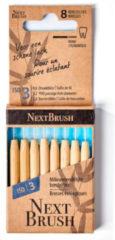 Nextbrush Bamboe interdentale ragers ISO 3 Inhoud: 8 stuks