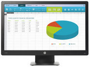 HP Inc HP ProDisplay P203 - LED-Monitor X7R53AA#ABB