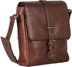 Bruine Leonhard Heyden Roma Shoulder Bag S Brown 5367