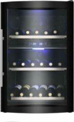 Roestvrijstalen Caviss C242GBE4 Wijnklimaatkast met 2 temperatuurzones voor 42 flessen