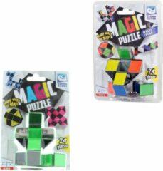 Clown Games Clown Magic Puzzle 3d 24 Dlg Multicolor + Puzzle 3d 24 Dlg Groen