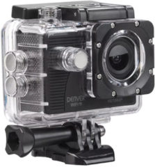 Zwarte Denver ACT-5051W - Action camera - Go pro - Action camera's - Waterdicht - Full HD - Wifi en app