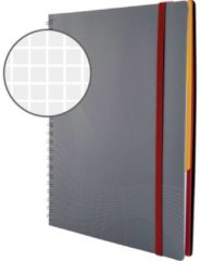 Avery-Zweckform Notitieboek Notizo 7015 Geruit Grijs Aantal Paginas: 90 Din A5