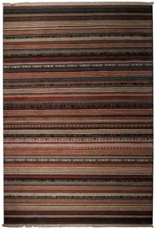 Afbeelding van Donkerbruine Vloerkleed Nepal - Medium - 160x235cm - Donkerbruin - Zuiver