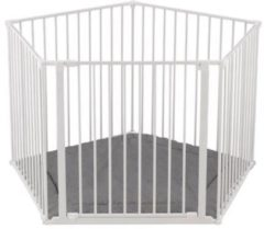 BabyDan Park-A-Kid Box - Incl Bodemmat Flex - Kleur Wit