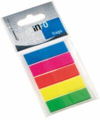 Info Notes Info flags 12,5x43mm assorti blister � 5 kleuren