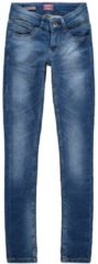 Blauwe Vingino Skinny FIT Lola MEDBLUE vrouwen - denim - 92
