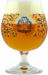 Transparante Oedipus Brewing Oedipus bolglas bierglas set 2x25cl bierglazen op voet