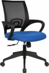 Rousseau Bureaustoel 'Orlando' PU nylon Blauw (1c)