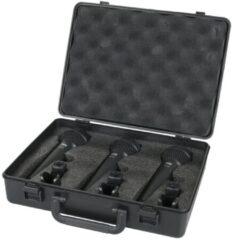 DAP Audio DAP PDM Pack, set van 3 dynamische microfoons Home entertainment - Accessoires