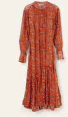 Oranje Oilily Dax long sleeve dress 17 zitz it up duo