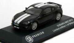 Subaru BRZ Coupe 2013 Black / White Stripes