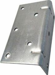 TQ4U Top Quality For You TQ4U versterkt metalen hoekanker 90° 6 / 4 x 11.5cm x 2mm dik | GEGALVANISEERD | 2 STUKS