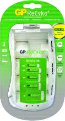 Blauwe GP PB19GS Oplader voor AA/AAA/C/D/ 9V oplaadbare batterijen