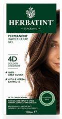 Herbatint haarkleuring - 04d goud kastanje