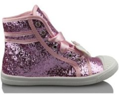 Roze Hoge Sneakers Hello Kitty CAMOMILLA MILANO GLIPPER