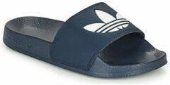 Adidas Originals Adilette Lite slippers donkerblauw/wit