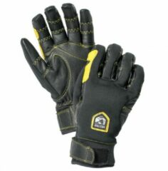 Grijze Hestra - Ergo Grip Active 5 Finger - Handschoenen maat 7 zwart/grijs