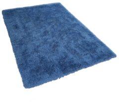 Blauwe Beliani Cide Vloerkleed Polyester 140 X 200 Cm