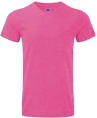 Russell Collection Basic heren T-shirt roze M (50)