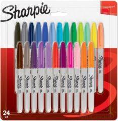 Sharpie 2065405 markeerstift 24 stuk(s) Multi kleuren Fijne/kogelvormige punt