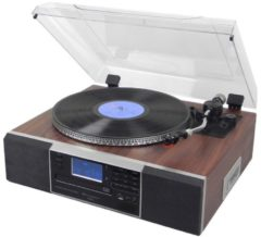 Soundmaster PL900 Nostalgie-Musikcenter mit CD-Brenner