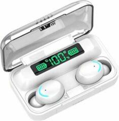 TWS - Draadloze oortjes / in-ear oordopjes - Bluetooth Draadloze buds - Luxe indicator - Geschikt voor alle smartphones o.a Samsung & Iphone, airpods, galaxy buds ,huawei, sony - Wit.- AANBIEDING!