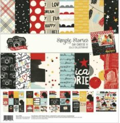 "Simple Stories: Say Cheese III collection Kit 12""X12"" (SAY37900)"