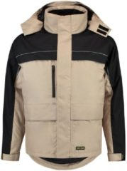 Kaki Tricorp Parka Cordura - Workwear - 402003 - khaki / zwart - Maat M
