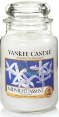 Witte Yankee Candle Large Jar Geurkaars - Midnight Jasmine