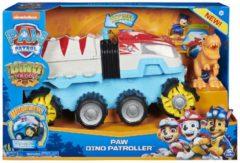 PAW Patrol Dino Rescue - Dino Team Voertuig - Gemotoriseerd teamvoertuig met exclusieve Chase- en T. Rex-figuur
