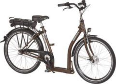 26 Zoll PFAU-TEC P3 braun Damen Elektro City Fahrrad extrem tiefer Einstieg 7 Gang