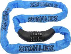 Stahlex Kettingslot Cijferslot Fietsslot ø5,5 X 120cm | Blauw