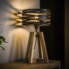 Bruine Easy Furn Tafellamp Drena