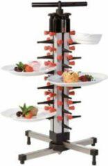 Zwarte Plate Mate Bordenrek PlateMate tafelmodel