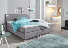 Collection AB Boxspringbett inkl. LED-Beleuchtung und Topper